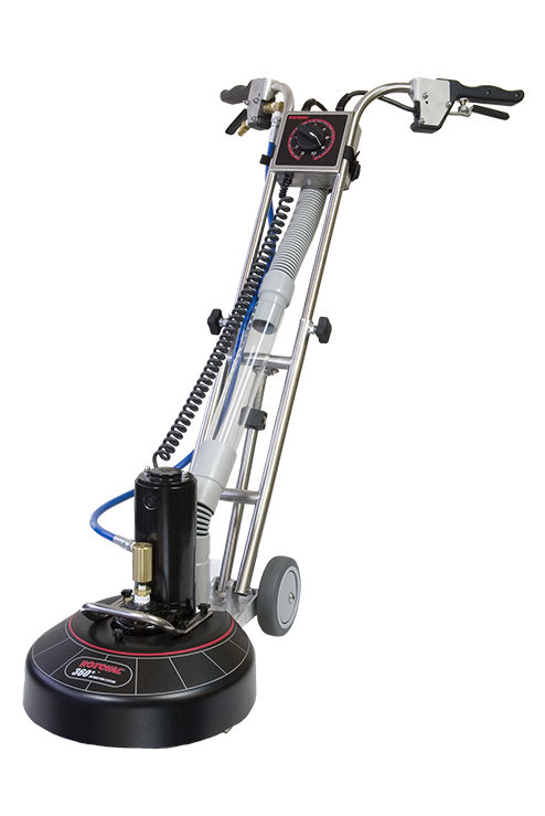 Rotovac 360i carpet and tile cleaning machine