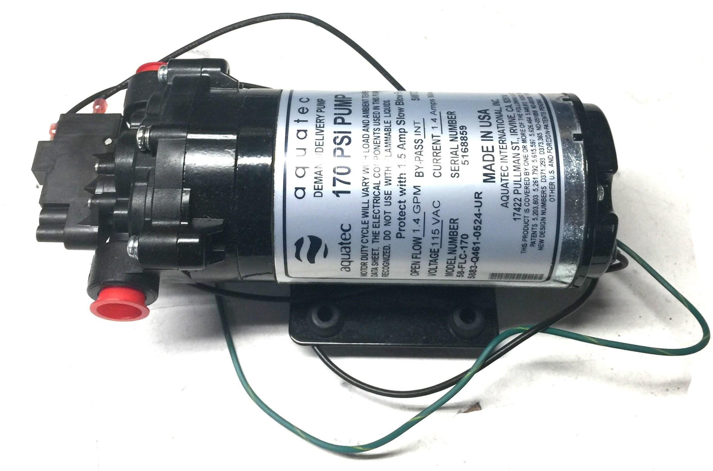 Aquatec 170psi replacement pump