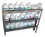 Van Chemical Storage Shelf