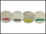 Diamond dust pads