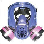 Full face mould respirator