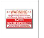 Warning sign ozone